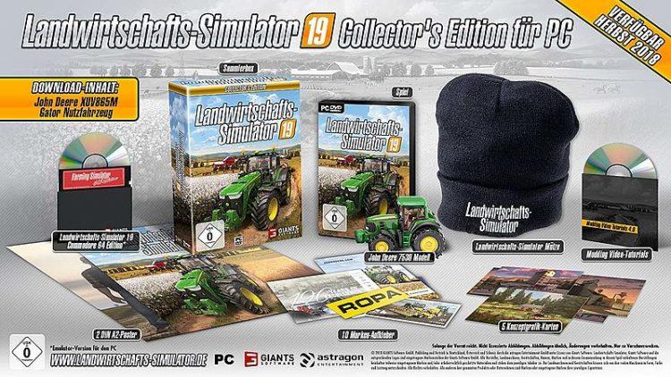 Farming Simulator 19 Collectors Edition for PC - FS19 mods / Farming