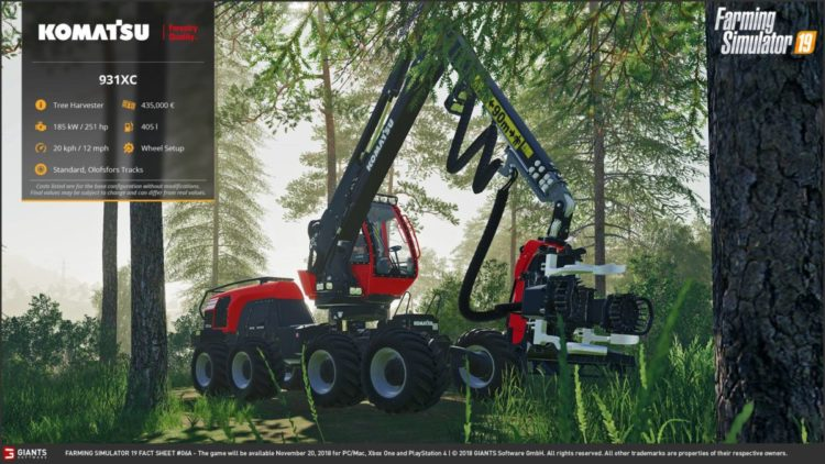 Do you like forestry? Check these machineries for FS19
