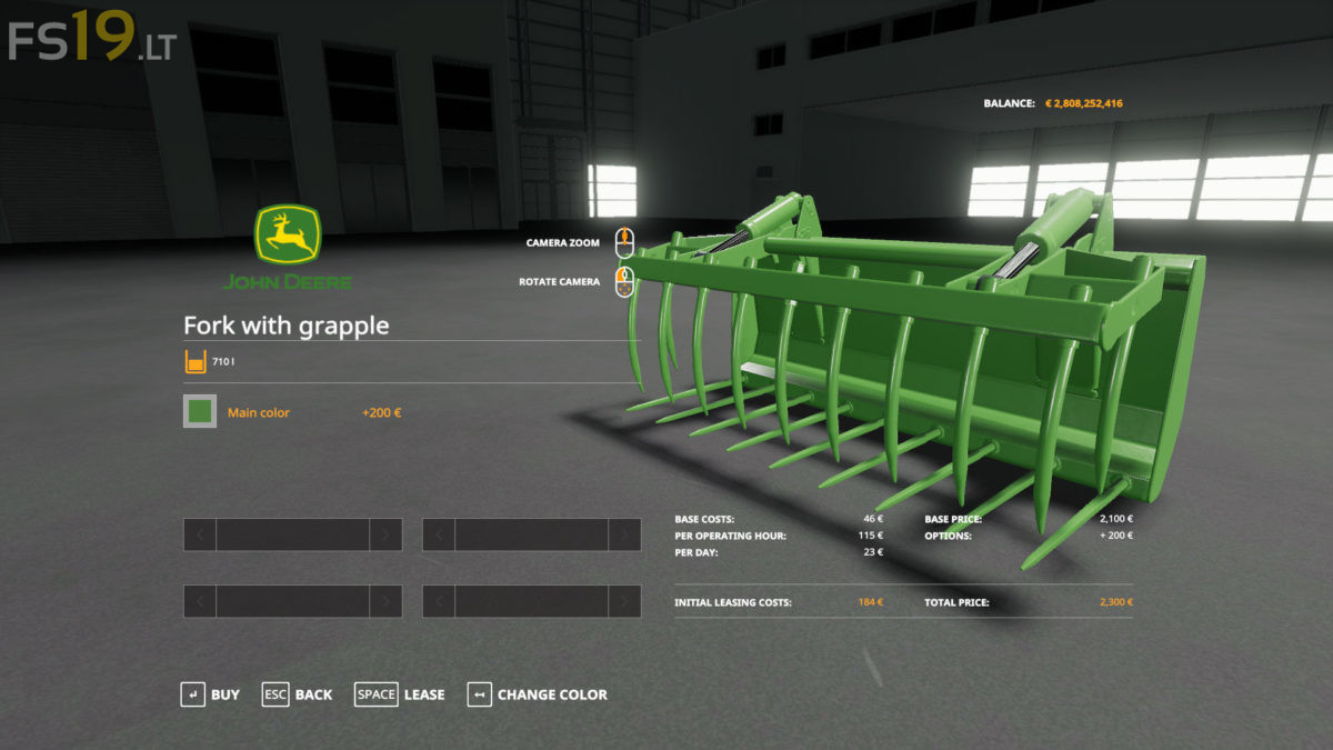 John Deere Frontloader Tools Pack