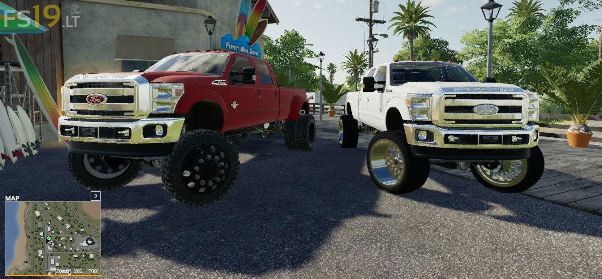 2011 Ford F-350 Crew Cab v 1 0 - FS19 mods / Farming Simulator 19 mods