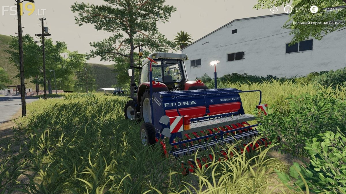 Fiona Seedcom XC DC v 1.0 - FS19 mods / Farming Simulator 19 mods