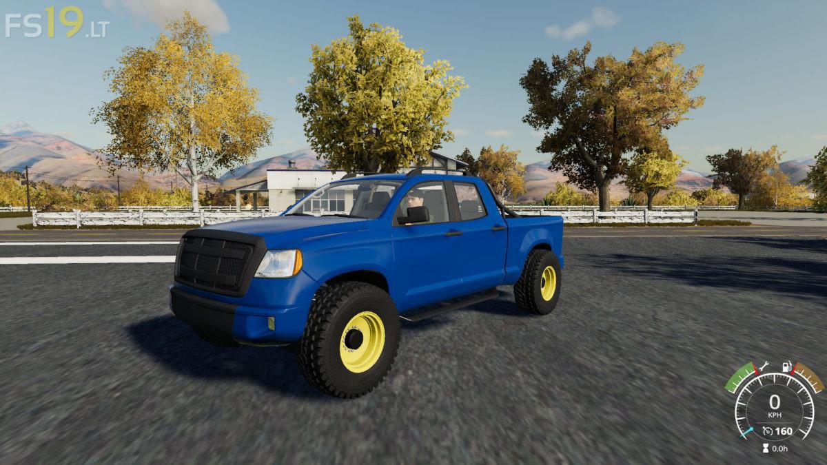 Lizard Pickup 2014 XM v 1 0 - FS19 mods / Farming Simulator