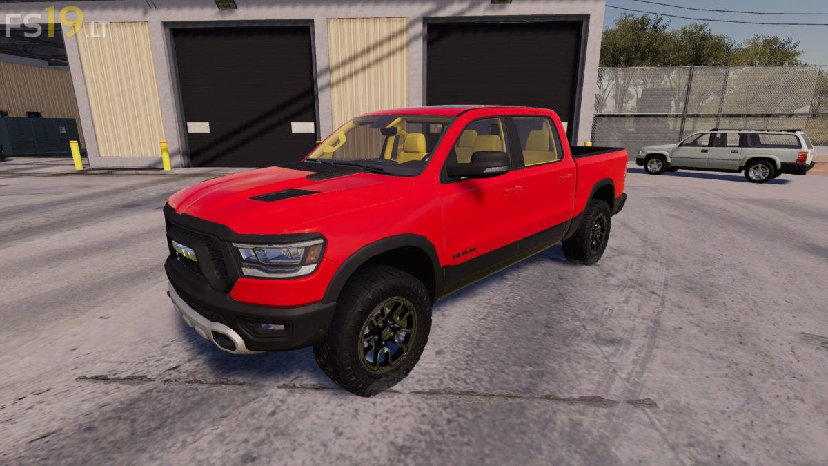 Dodge Ram Mod For Fs19 | 2019 Trucks
