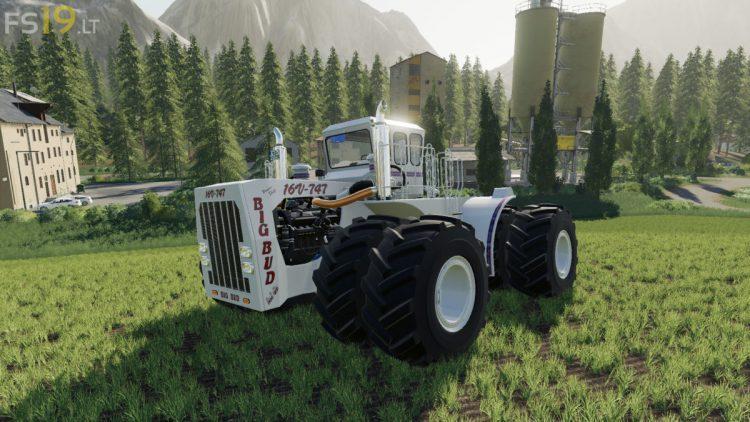 Big Bud 747 >> Big Bud 747 v 1.1 - FS19 mods / Farming Simulator 19 mods