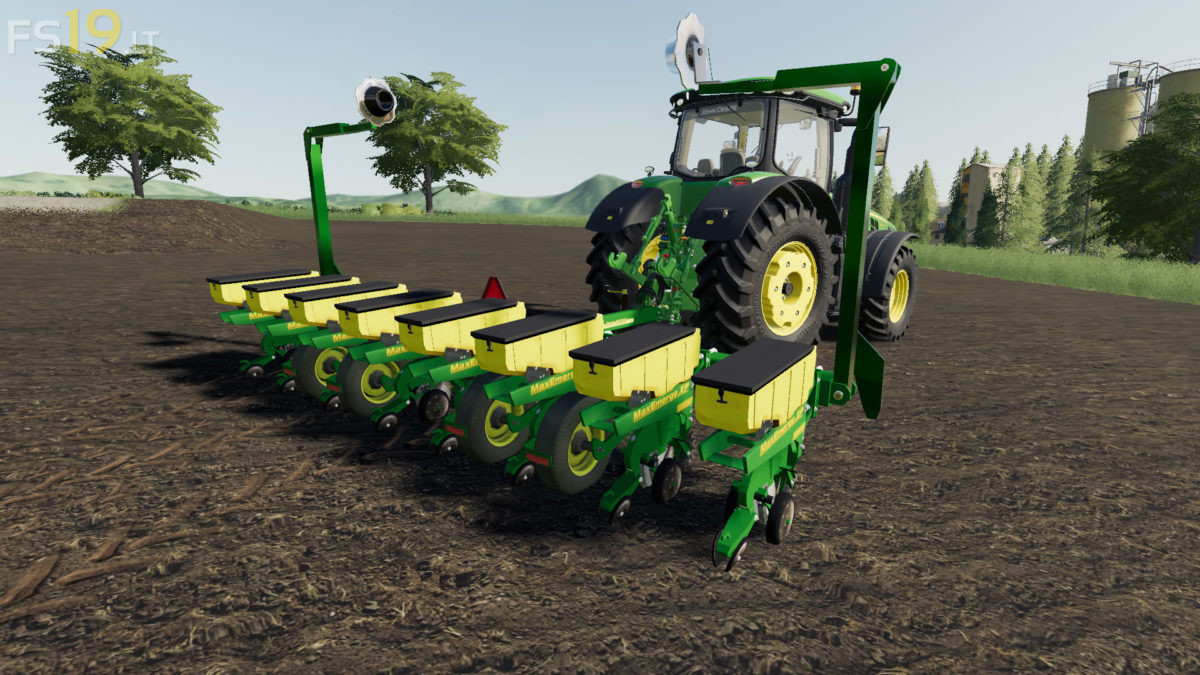 John Deere 1760 Planter 1 Fs19 Mods Farming Simulator 19 Mods