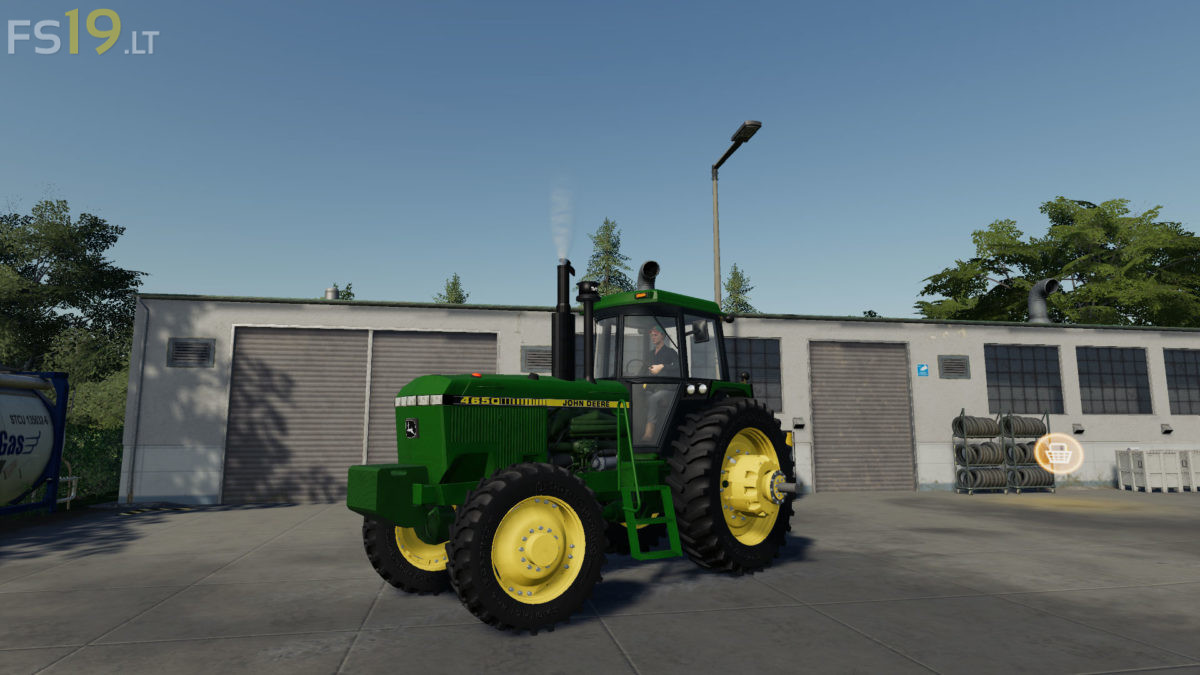John Deere FWA Series v 1 0 - FS19 mods / Farming Simulator 19 mods