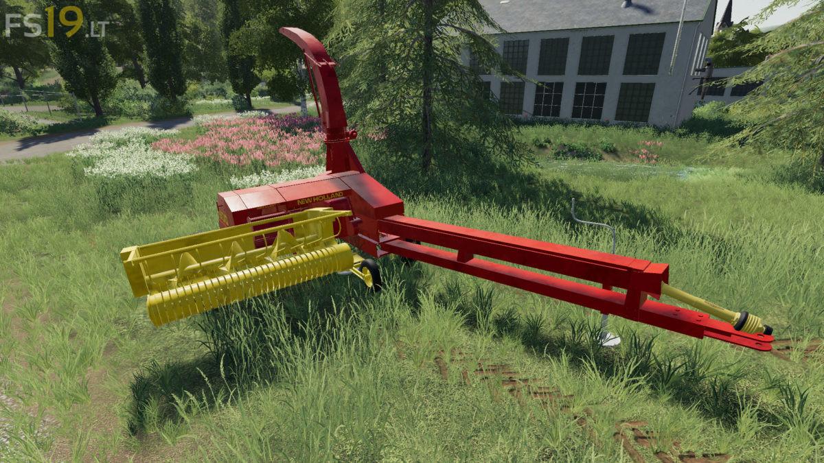 New Holland 900 Forage Harvester & Headers v 1 0 - FS19 mods