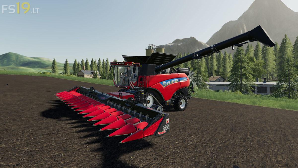 New Holland CR 10 90 Sugarcane Edition v 1 5 1 - FS19 mods / Farming