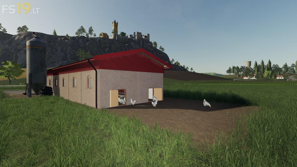 Chicken Stable V 1 0 Fs19 Mods Farming Simulator 19 Mods