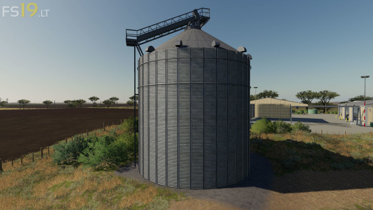 Multifruit Silo Pack with Extension v 1 0 - FS19 mods / Farming
