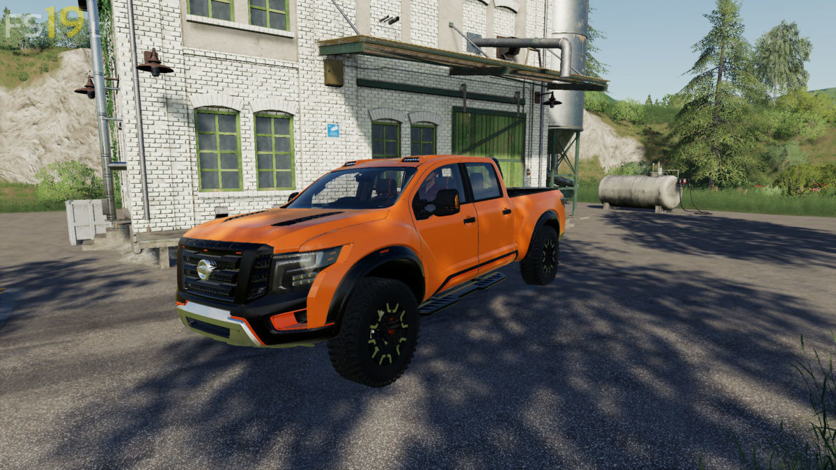 Nissan Titan Warrior V 1 0 Fs19 Mods Farming Simulator 19 Mods