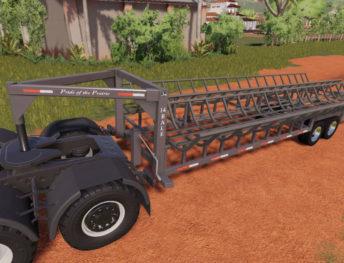 FS19 mods / Farming Simulator 19 mods - Bale / Flatbed