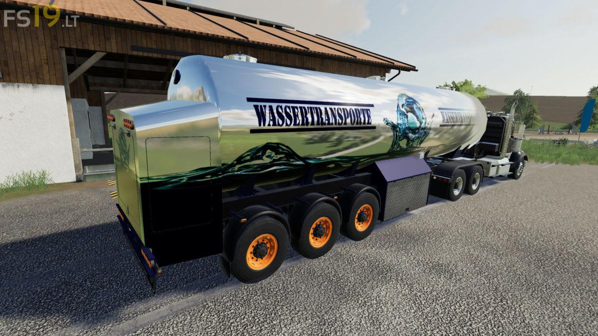 Water Transport Semitrailer V 1.0