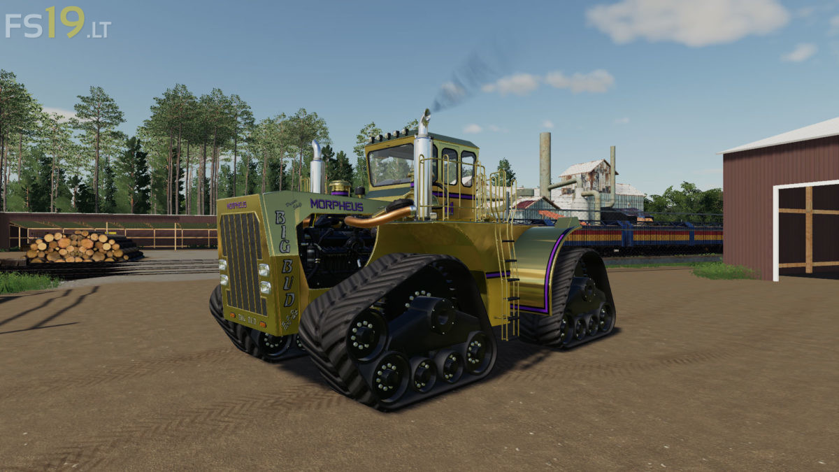 Big Bud 747 >> Big Bud 450 & 747 v 1.0 - FS19 mods / Farming Simulator 19 ...