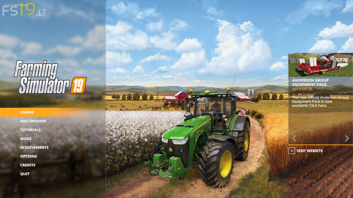 Farming Simulator 19 Update 1 4 - FS19 mods / Farming Simulator 19 mods