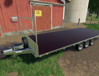 FS19 mods / Farming Simulator 19 mods - Bale / Flatbed Trailers