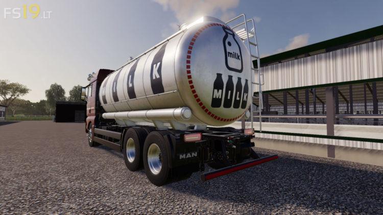 Man Tgx Tanker Truck V 1 1 Fs19 Mods Farming Simulator