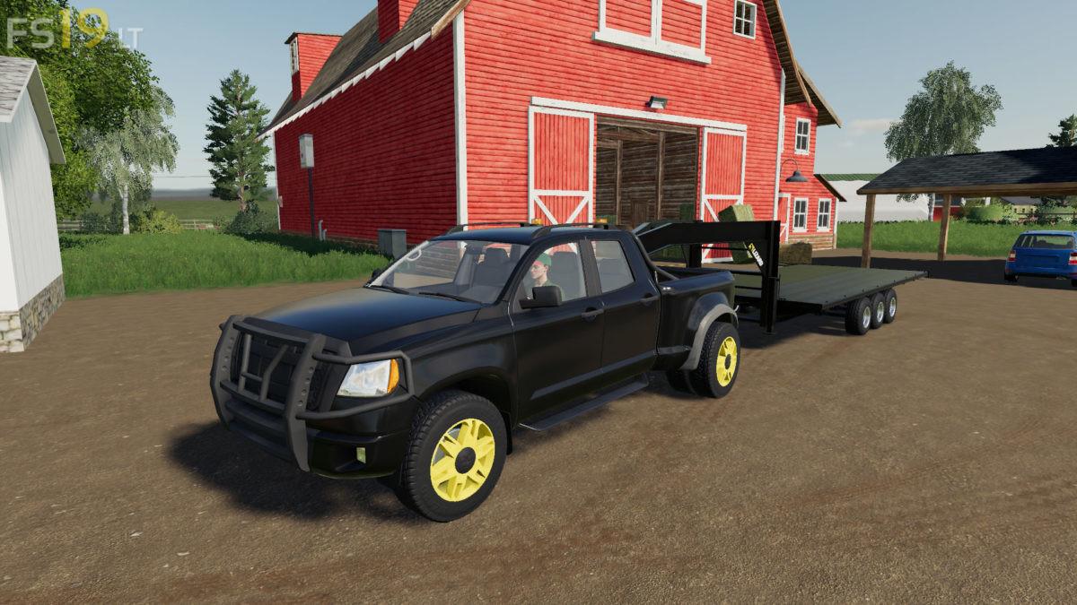 5TH Wheel Hitch Pack v 1 0 - FS19 mods / Farming Simulator