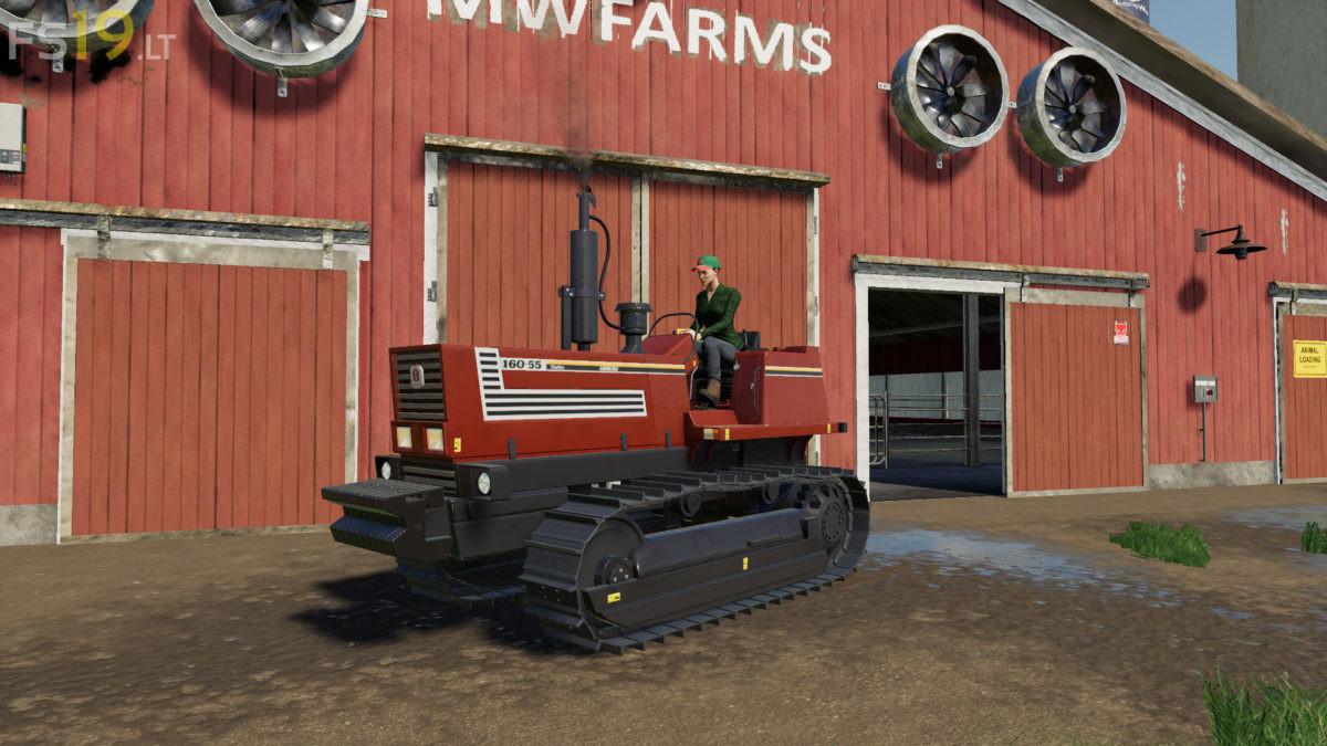 Fiatagri / New Holland 160-55 v 1 0 - FS19 mods / Farming Simulator