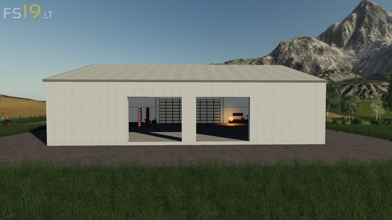 hall-with-workshop - FS19 mods / Farming Simulator 19 mods