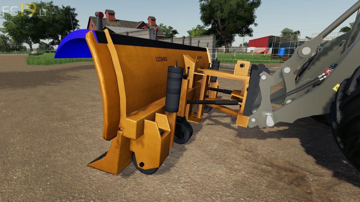 Farming Simulator 19 Snow Plow