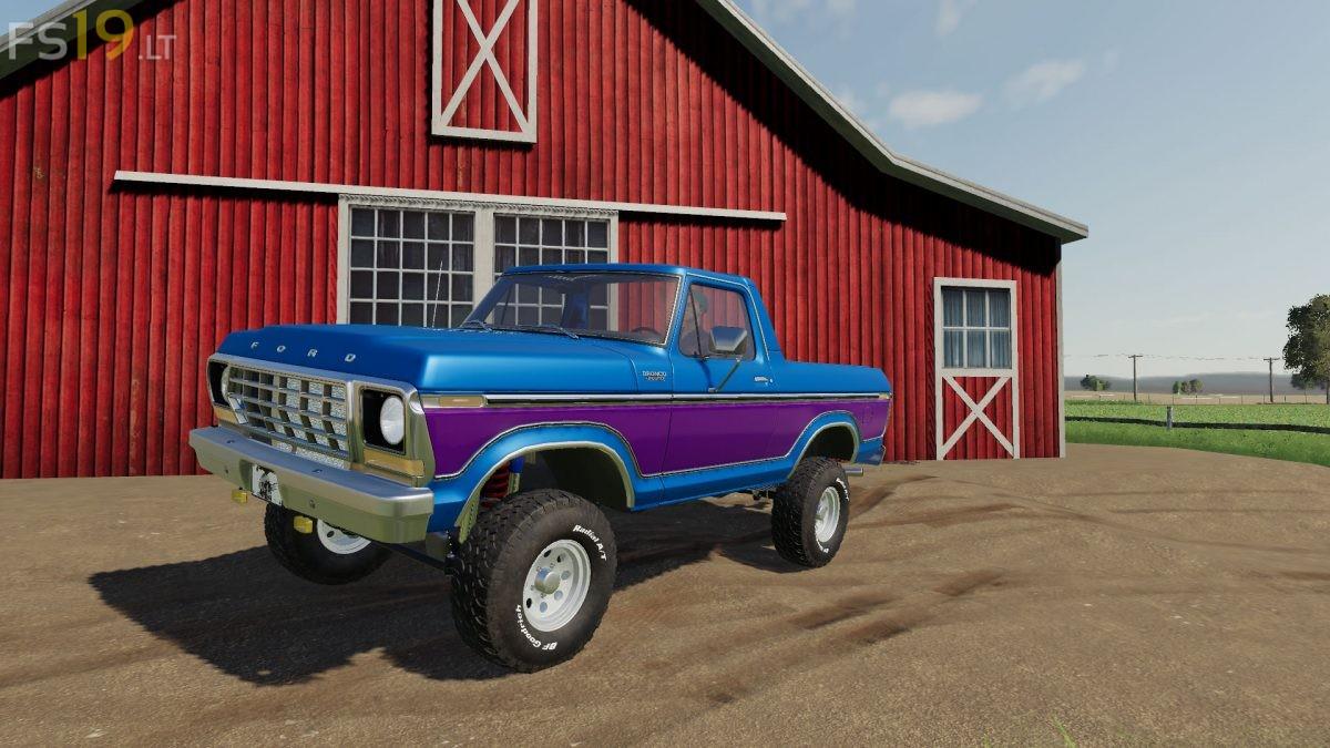 1978 Ford Bronco 2 Fs19 Mods Farming Simulator 19 Mods