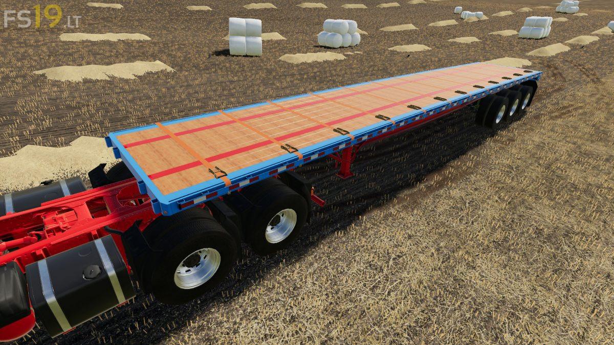 Ibm Jmt19 Flatbed Trailer V 1 0 Fs19 Mods Farming Simulator 19 Mods